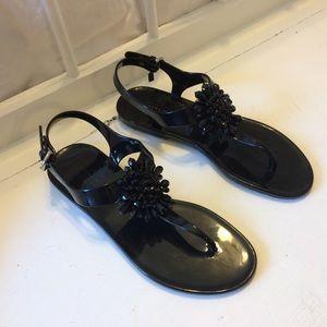 Coach Hilda jelly sandals 7B